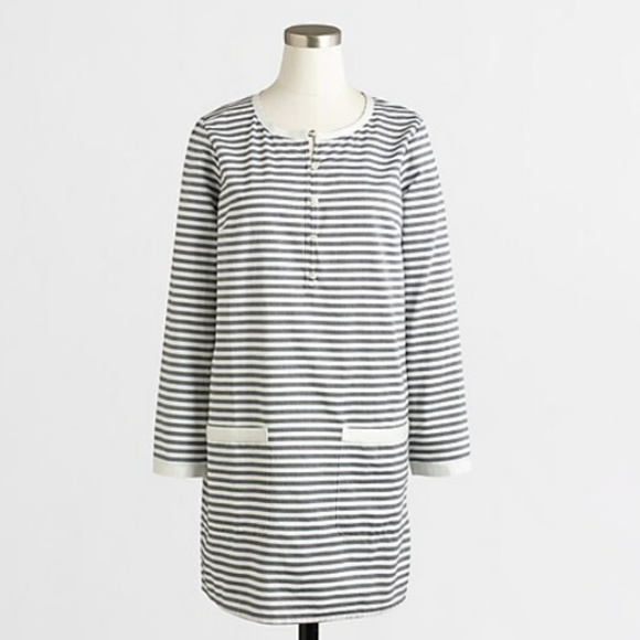 J. Crew Factory Dresses & Skirts - JCREW FACTORY Stripe Dress with Pockets Small